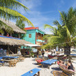 Stock Photo: Koh rong island beach bars in cambodia