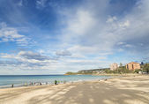 Manly beach in sydney australia — Stock Photo