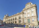 Sao bento railway station porto portugal — Stock Photo
