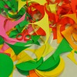 Colour paper decoration — Stock Photo