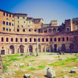 Trajan's Market, Rome retro look — Stock Photo