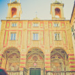 San Pietro in Banchi church, Genoa retro look — Photo