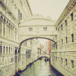 Bridge of Sighs Venice retro look — Stock Photo #31219315