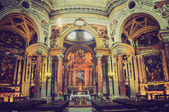 San Lorenzo church Turin retro look — Stock Photo