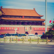 Tiananmen in Peking retro look — Stock Photo #31383083