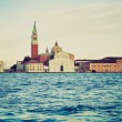 Stock Photo: SGiorgio, LGiudecca, Venice retro look