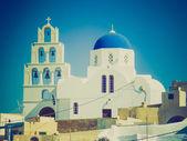 Pyrgos in grecia retrò guardare — Foto Stock