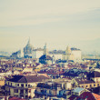 Turin view retro look — Stock Photo