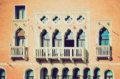 Look retro venecia — Foto de Stock