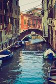 Venezia, look retrò italia — Foto Stock