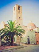 Mediterranean architecture retro looking — Stock Photo
