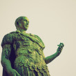 Roman statue retro look — Stock Photo