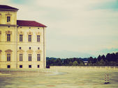 Venaria Reale retro looking — Stock Photo