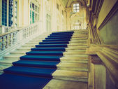 Palazzo Madama, Turin retro look — Stock Photo