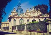 Villa Borghese, Rome retro look — Stock Photo