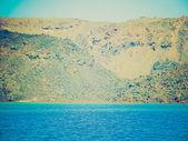 Nea kameni en grecia retro mira — Foto de Stock