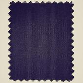 Fabric sample isolated retro looking — Stock Photo