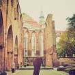 Klosterkirche, Berlin retro look — Stock Photo