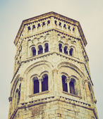 San Donato church, Genoa retro look — Stock Photo