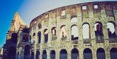 Colosseum, Rome retro look — Stock Photo