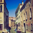 Stock Photo: Venice, Italy retro look