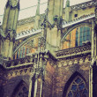 Ulm Minster church retro look — Stock Photo #33078801