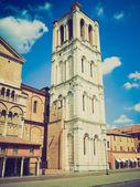 Ferrara, Italy retro looking — Stock Photo