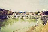 Rome, look rétro italie — Photo