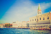 San Marco in Venice retro look — Stock Photo