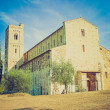 Sant Attimo Abbey, Italy retro looking — Stock Photo