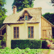 Old cottage retro looking — Stock Photo