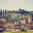 Roman Forum, Rome retro look — Stock Photo
