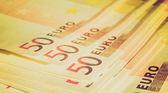 Euro uwaga retro patrząc — Zdjęcie stockowe