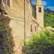 Stock Photo: Castelvecchio di RoccBarbenretro looking