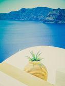 Oia ia in Griekenland retro kijken — Stockfoto