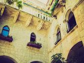 Trogir, Croatia retro looking — Stock Photo