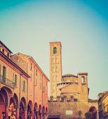 Vintage buscando bolonia italia — Foto de Stock