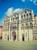 Ferrara, Italy retro looking — Foto Stock