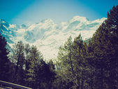 Bernina retro looking — Stock Photo
