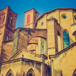 Vintage looking Bologna Italy — Stock Photo #35048367