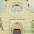 Stock Photo: SDonato church, Genoretro look