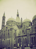 Vintage sepia Padua, Italy — Stock Photo