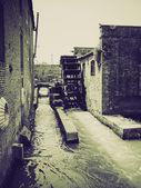 Vintage sepia Padua, Italy — Stock Photo