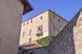 Castello della Manta castle — Stock Photo