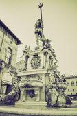Vintage sepia Bologna Italy — Stock Photo
