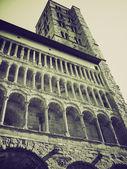 Vintage sepia arezzo, italia — Foto de Stock