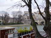 Ile de la Cite Paris — Stock Photo