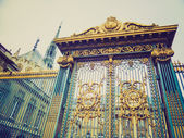 Retro look Sainte Chapelle Paris — Stock Photo