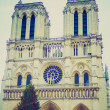 Retro look Notre Dame Paris — Stock Photo #39820169