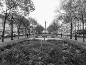 发生巴士底广场巴黎 — 图库照片